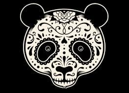 day of the dead panda by jason bergsieker and enkel dika threadless