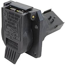 amazon com genuine chrysler 56055632ac 7 way trailer connector