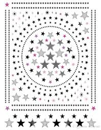 black star nail art stickers pentagram nail decals stylish full
