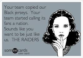 Raider Nation Memes - lmao there s only one nation baby and that s raider nation i