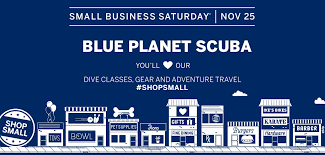 happy thanksgiving see you at small business saturday blue