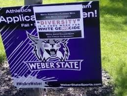 Weber State University Campus Map by White Nationalist Posters Appear On Weber State Campus Deseret News