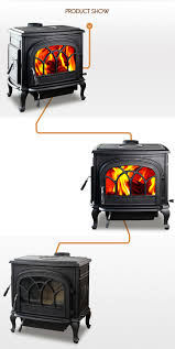 factory direct selling hiflame cast iron fireplace cast iron wood
