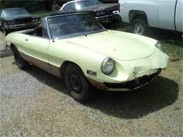 classic alfa romeo spider 1971 alfa romeo 2000 spider veloce for sale classiccars com cc
