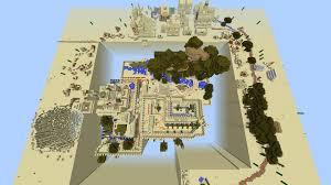 Castle Maps For Minecraft Desert Kingdom V2 Castle Siege Map