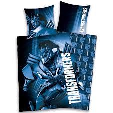 Graphic Duvet Cover Transformers Single Duvet Cover Sets Various Designs Kids