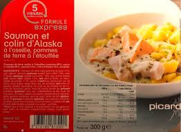 colin cuisine saumon et colin d alaska picard 300 g