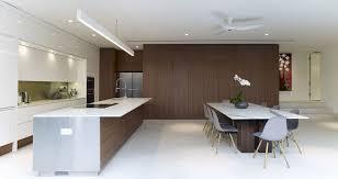 home design modern minimalist kitchen with white kitchen island