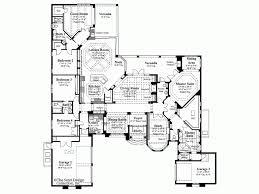Mediterranean House Floor Plans Sumptuous Design Ideas 1 Story Mediterranean House Plans With
