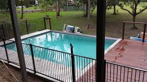 above ground concrete pool brisbane queensland by just add water