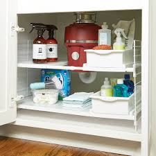 Bathroom Cabinet Storage by Under Sink Organizers Bathroom Cabinet Storage Organization Benevola