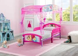 Princess Canopy Bed Frame Princess Canopy Toddler Bed Delta Children