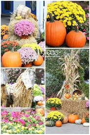 Outdoor Fall Decorations by Outdoor Fall Decor Ideas Creative Cain Cabin