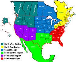 regions of mexico map draught society regions