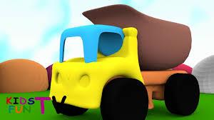 kidsfuntv dump truck toy 3d hd animated for kids youtube