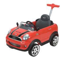 avigo mini cooper foot to floor ride on red toys