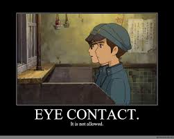Eye Contact Meme - eye contact anime meme com