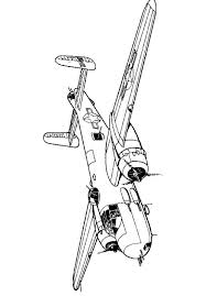 kids fun 46 coloring pages wwii aircrafts