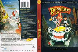 rabbit dvd who framed roger rabbit 1988 r1 dvd cd label dvd