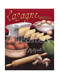 cuisine lasagne facile lasagna prints by brissonnet at allposters com
