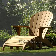 outdoor chair adirondack with ottoman