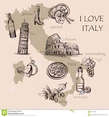 Venice Italy Map Creative Map Of Italy Stock Vector Image 64814350