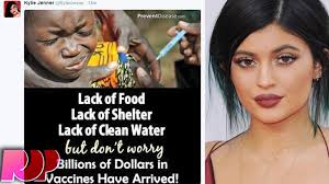 Kylie Jenner Meme - kylie jenner posts anti vaccination meme why youtube