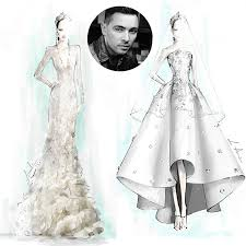 design a wedding dress canadian designers sketch dresses for pippa middleton s wedding