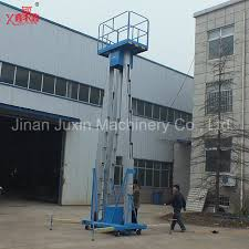 used electric lift table china sale indoor used aluminum alloy aerial work platform
