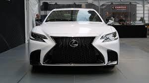 2018 lexus ls 500 f sport is a more aggressive luxury sedan