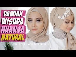 tutorial makeup natural wisuda natural look buat wisuda one brand wardah chit chat detail buat