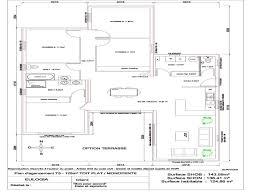 plan maison contemporaine plain pied 3 chambres chambre plan maison plain pied 4 chambres unique plan maison plain