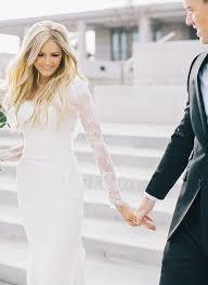 duchesse linie v ausschnitt knielang tull brautjungfernkleid mit scharpe band p656 the 25 best kleid weiß spitze standesamt ideas on