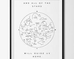 printable star constellation map inspirational print inspirational quote printable quote