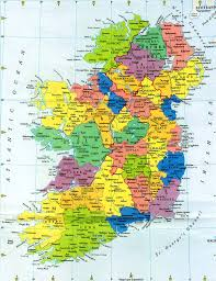 Map Of England With Cities by Free Printable Map Of Ireland Map Of Ireland Plan Your