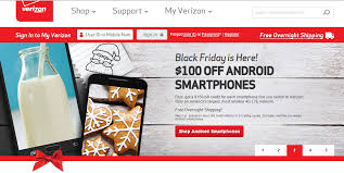verizon cell phone black friday deals deal alert verizon u0027s black friday deal offers 100 off all on