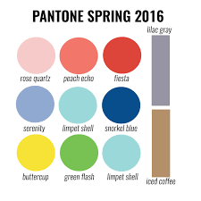 pantone 2016 colors designs in paper pantone spring 2016