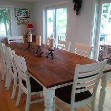 dining room table for 8 10 9 foot table plenty of space to entertain 8 10 people warm