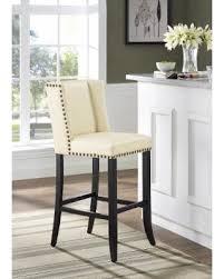 deal alert denver cream bar stool beige off white polypropylene