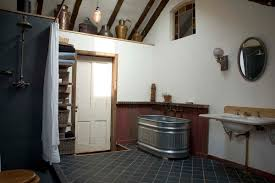 bathroom narrow attic with white sink and toilet design bathroom narrow attic with white sink and toilet design ideas vintage