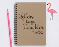 letter to daughter etsy