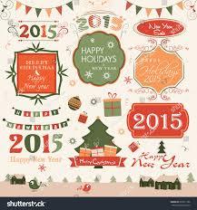 happy new year merry celebration stock vector 239511766