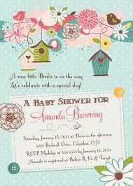 bird baby shower bird baby shower invitations theruntime