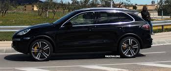 Porsche Cayenne Modified - spied 2015 porsche cayenne facelift spy pics u0026 info