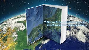 Pennsylvania what travels around the world but stays in one spot images The world is a book and those who do not travel read only one page quot jpg