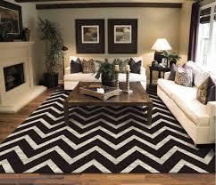 modern zig zag pattern black and white 8x11