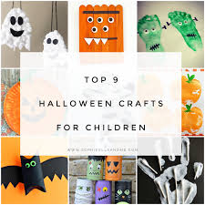 top 9 halloween crafts for children sophie ella and me