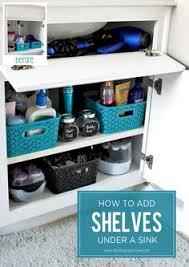 Under Bathroom Sink Storage Ideas by O Is For Organize Under The Bathroom Sink Or The Kitchen Sink
