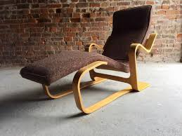 Knoll Rocking Chair Bauhaus Chaise Lounge By Marcel Breuer For Knoll 1970s For Sale