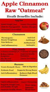apple cinnamon raw oatmeal oat free raw food vibinveggies